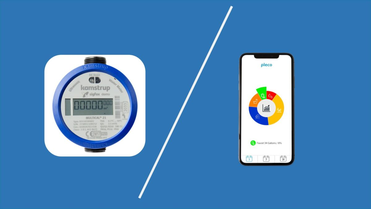 Comparison: Pleco And A Smart Water Meter